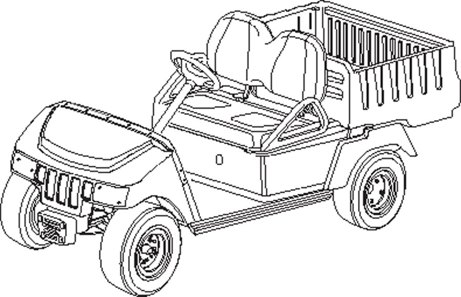 2015 Club Car Carryall 100 Gasoline in Bluffton, South Carolina