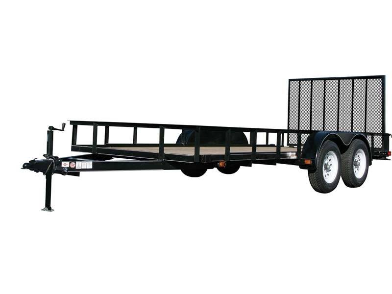 2017 Carry-On Trailers 6X20GW1BRK in Saint Johnsbury, Vermont