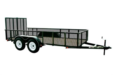 2017 Carry-On Trailers 7X16GWHS2BRK in Kansas City, Kansas