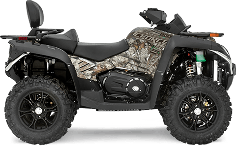 2017 CFMOTO CForce 800 EPS TT Camo in Pendleton, New York