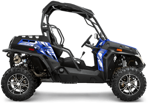 2017 CFMOTO ZForce 800 EX EPS in Evanston, Wyoming