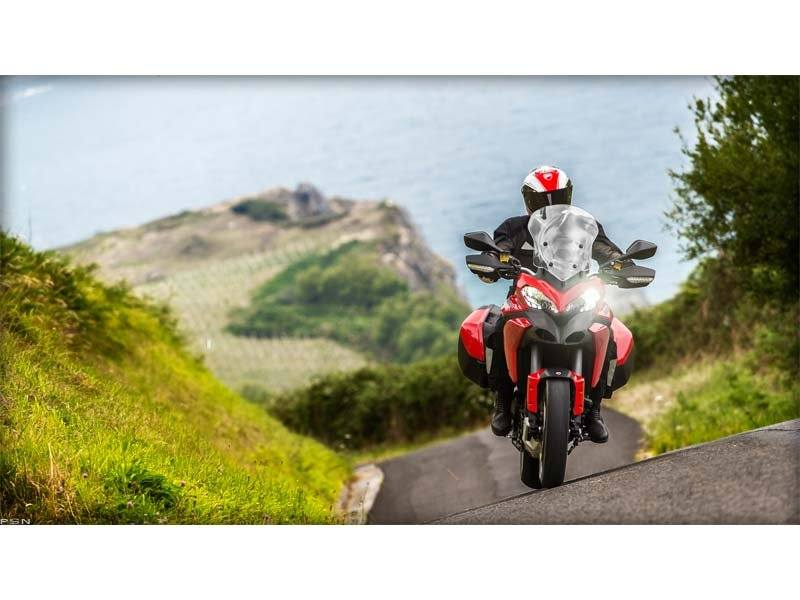2013 Ducati Multistrada 1200 S Touring in Medford, Massachusetts