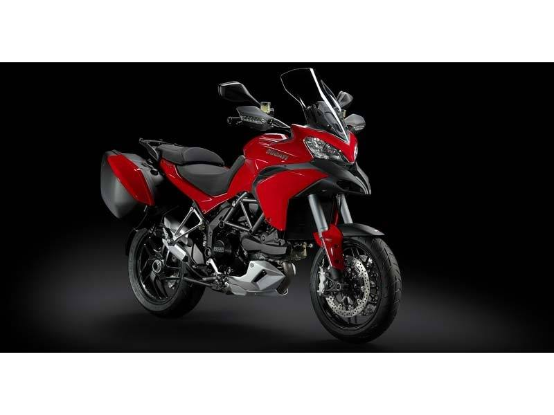2014 Ducati Multistrada 1200 S Touring in Medford, Massachusetts