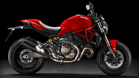 2017 Ducati Monster 821 in Sacramento, California