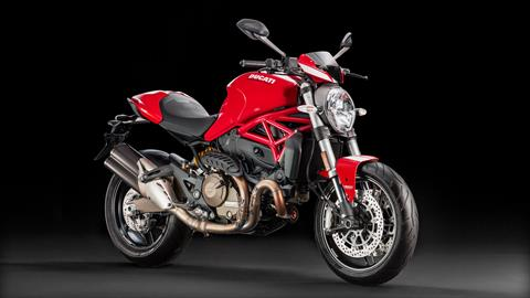 2017 Ducati Monster 821 Stripe in Medford, Massachusetts