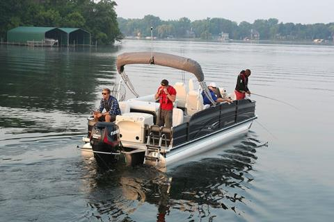 2015 Evinrude E25DEL in Deerwood, Minnesota