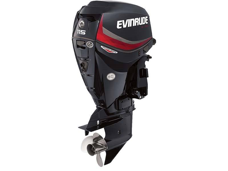 2016 Evinrude Pontoon E115GNL in Sparks, Nevada