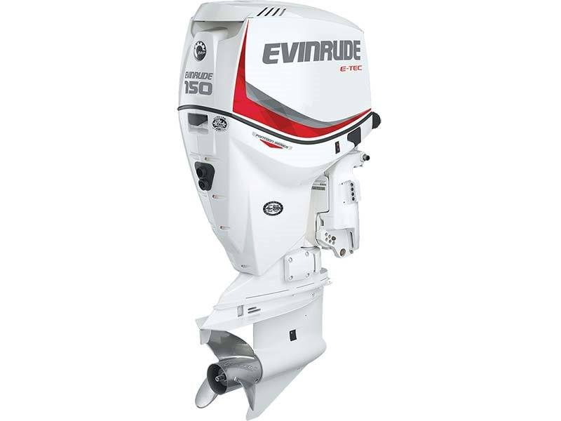 2016 Evinrude Pontoon E150SNL in Sparks, Nevada