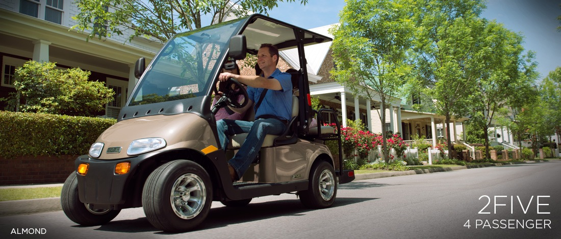 2017 E-Z-Go Personal 2Five 4 Passenger in Texas City, Texas