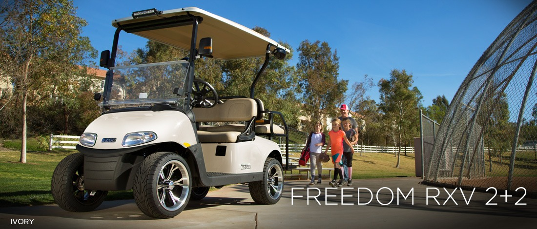 2017 E-Z-Go Personal Freedom RXV 2+2 Electric in AULANDER, North Carolina