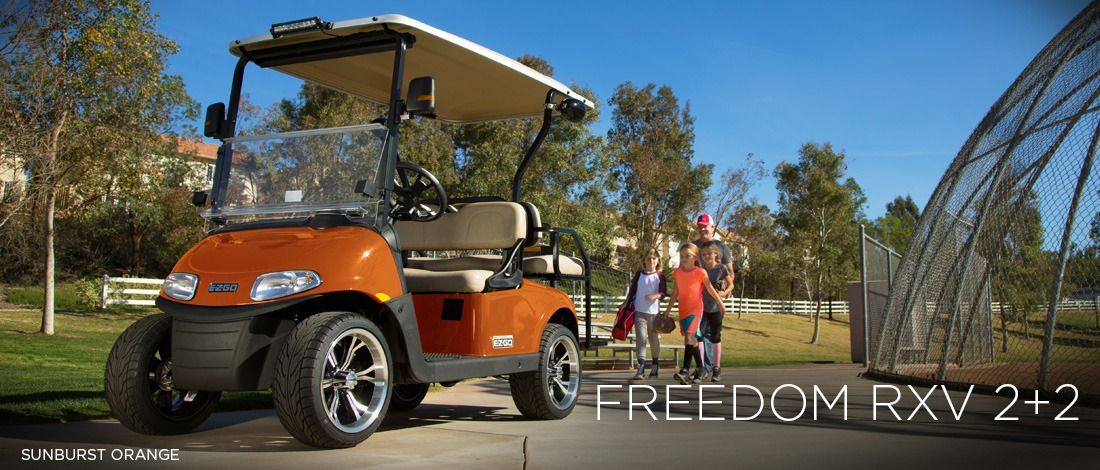 2017 E-Z-Go Personal Freedom RXV 2+2 Electric in Beaver Dam, Wisconsin