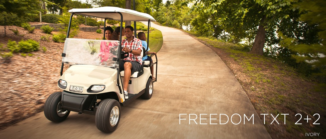 2017 E-Z-Go Personal Freedom TXT 2+2 Electric in Texas City, Texas