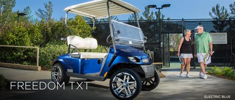 2017 E-Z-Go Personal Freedom TXT Electric in Webster, Texas