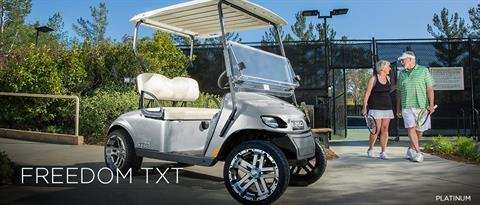 2017 E-Z-Go Freedom TXT Electric in Webster, Texas