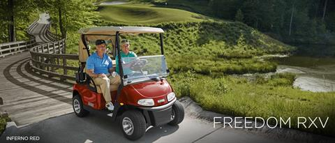 2017 E-Z-Go Golf Freedom RXV Electric in Webster, Texas