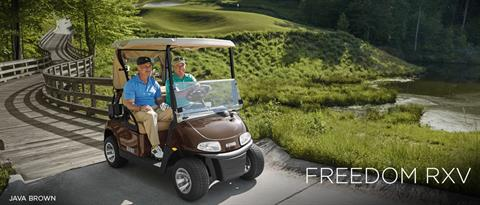 2017 E-Z-Go Golf Freedom RXV Gas in Beaver Dam, Wisconsin