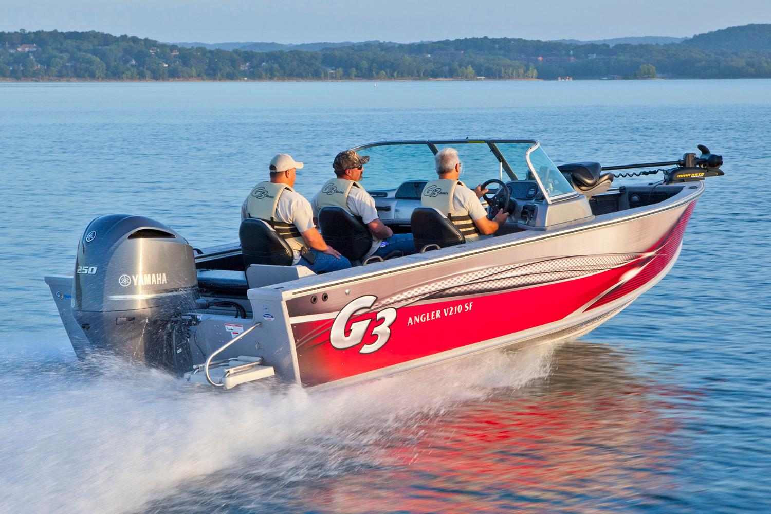2017 G3 Angler V21 SF in Bryant, Arkansas