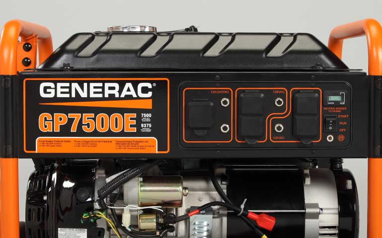 2015 Generac GP7500E in Athens, Ohio