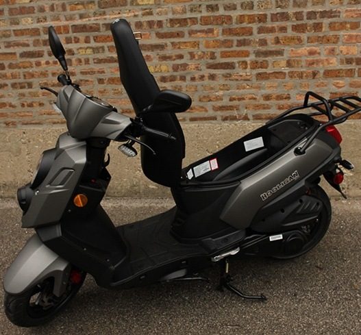 2017 Genuine Scooters Hooligan 170i in Greensboro, North Carolina