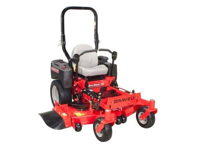 Ms Lawn Mower : New gravely usa pro turn™ lawn mowers riding in