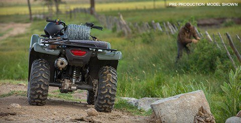 2016 Honda FourTrax Rancher 4x4 Automatic DCT Power Steering in Valparaiso, Indiana