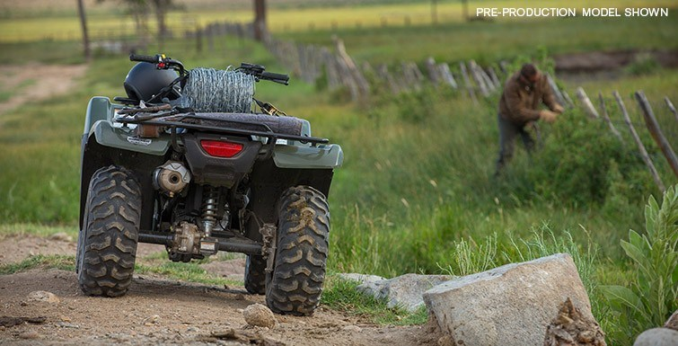 2016 Honda FourTrax Rancher 4x4 Automatic DCT Power Steering in Honesdale, Pennsylvania