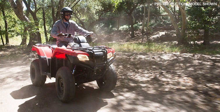 2016 Honda FourTrax Rancher 4x4 Automatic DCT Power Steering in Fontana, California