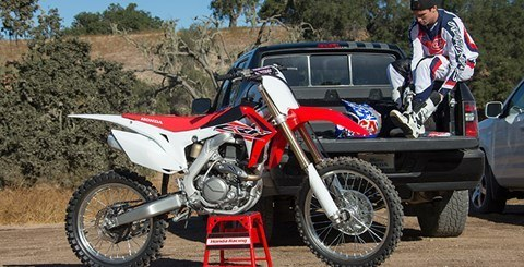 2016 Honda CRF450R in Fort Pierce, Florida