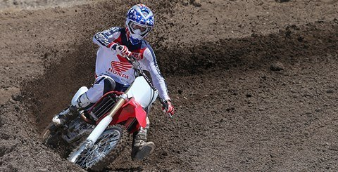 2016 Honda CRF450R in Vancouver, British Columbia