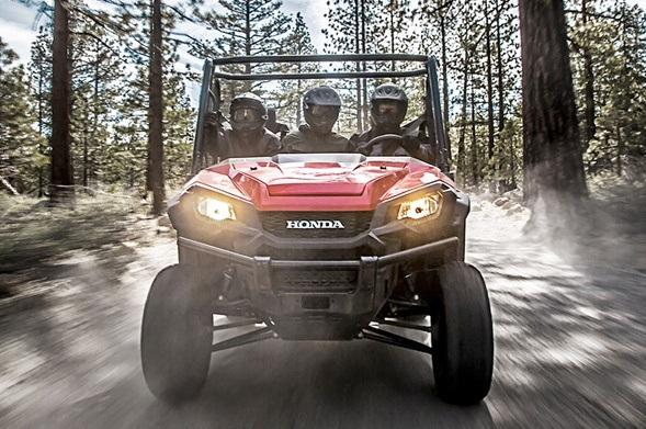 2016 Honda Pioneer 1000-5 Deluxe in Jamestown, New York