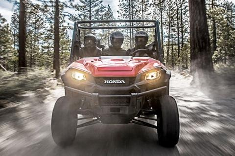 2016 Honda Pioneer 1000-5 Deluxe in West Bridgewater, Massachusetts