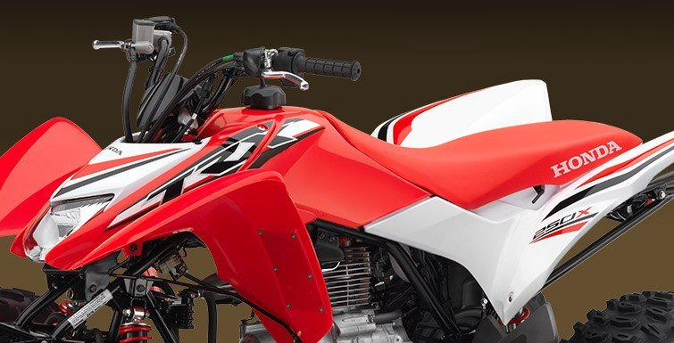 2017 Honda TRX250X Special Edition in Ukiah, California
