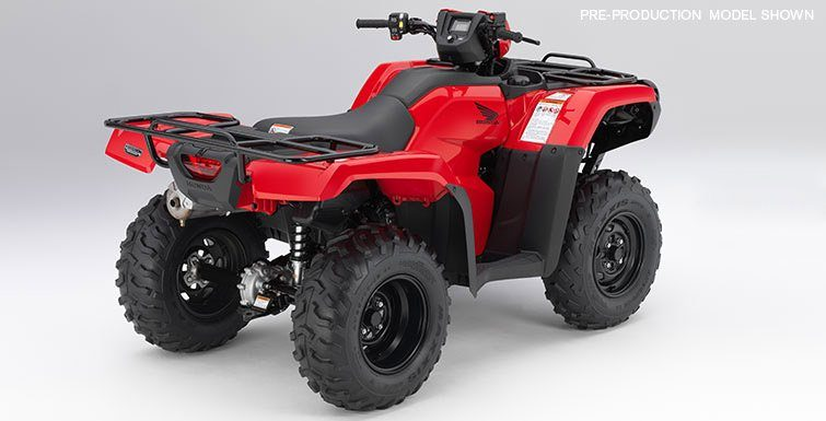 2017 Honda FourTrax Foreman 4x4 in Carson, California