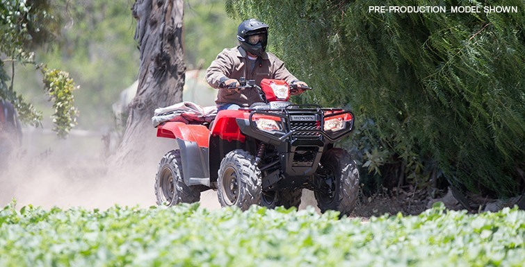 2017 Honda FourTrax Foreman Rubicon 4x4 DCT in Fontana, California