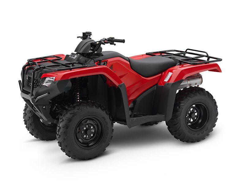 2017 Honda FourTrax Rancher 4x4 in Lewiston, Maine