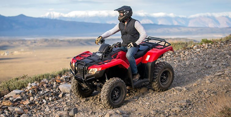 2017 Honda FourTrax Rancher 4x4 DCT EPS in Hollister, California