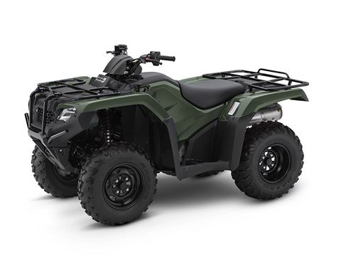 2017 Honda FourTrax Rancher 4x4 DCT EPS in Spokane, Washington