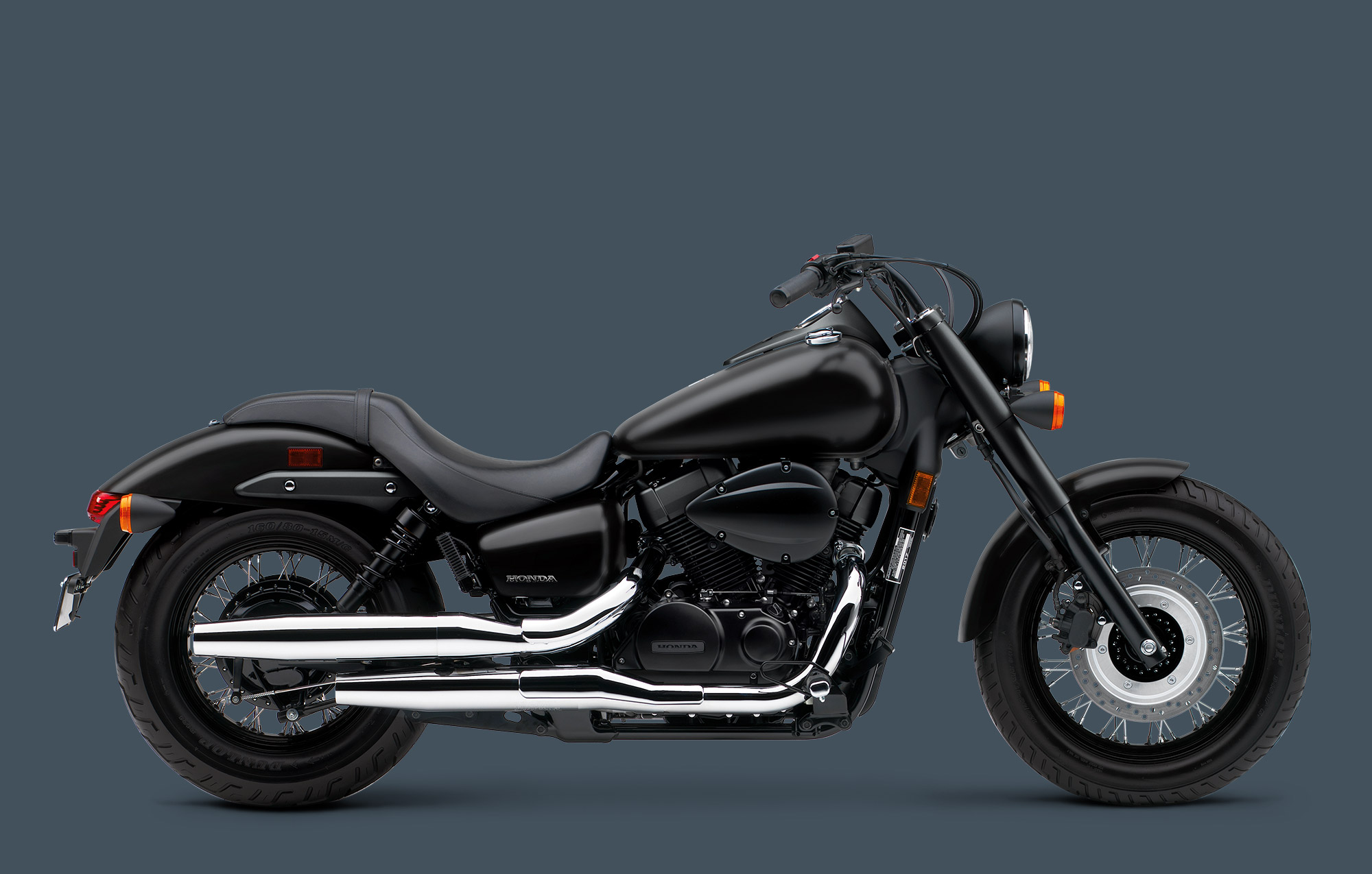 2017 Honda Shadow Phantom in Phillipston, Massachusetts