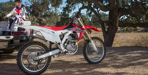 2017 Honda CRF250R in West Bridgewater, Massachusetts