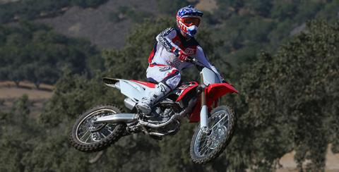 2017 Honda CRF250R in Merced, California