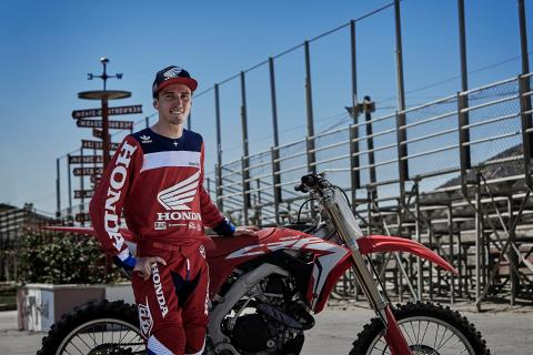 2017 Honda CRF450R in New Bedford, Massachusetts