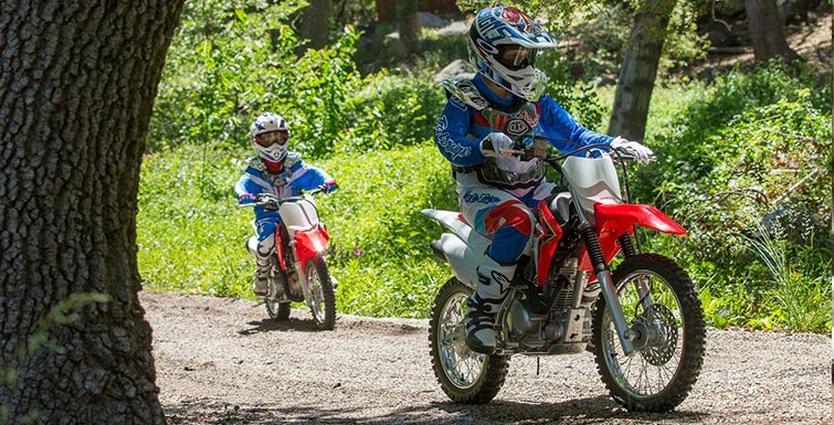 2017 Honda CRF125F in Brighton, Michigan