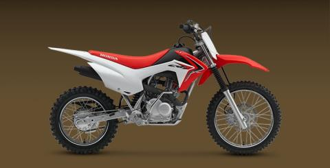 2017 Honda CRF125F in Clovis, New Mexico