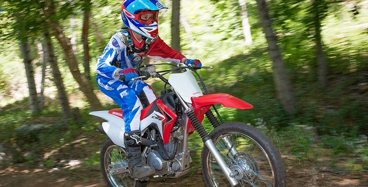 2017 Honda CRF125F (Big Wheel) in Phillipston, Massachusetts
