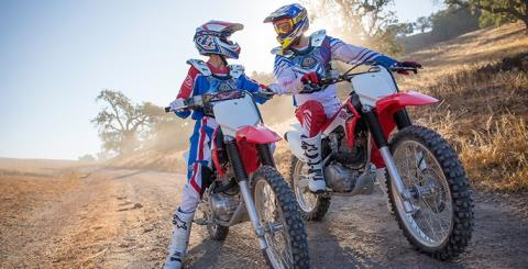 2017 Honda CRF150F in Carson, California