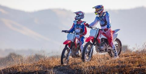 2017 Honda CRF230F in Phillipston, Massachusetts