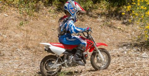 2017 Honda CRF50F in Phillipston, Massachusetts