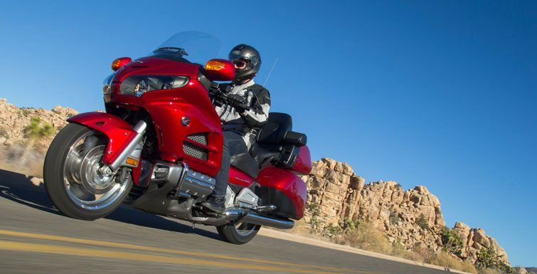 2017 Honda Gold Wing Audio Comfort in Phillipston, Massachusetts