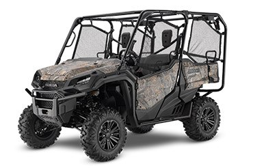 2017 Honda Pioneer 1000-5 Deluxe in Hendersonville, North Carolina