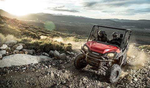 2017 Honda Pioneer 1000 in Phillipston, Massachusetts